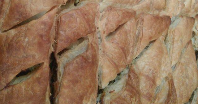 Χορτόπιτα νηστίσιμη με φύλλο