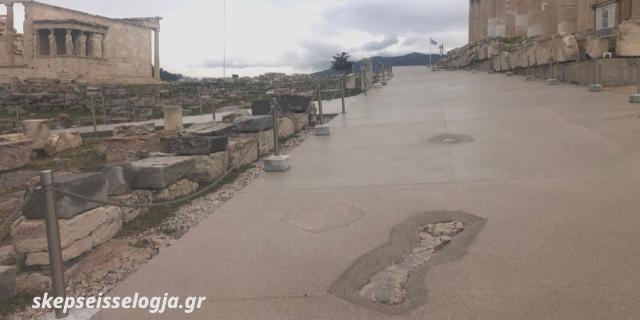 Ακρόπολη 2021. Διαδρομές τσιμέντου, χωρίς τη συναίνεση της Θεάς…